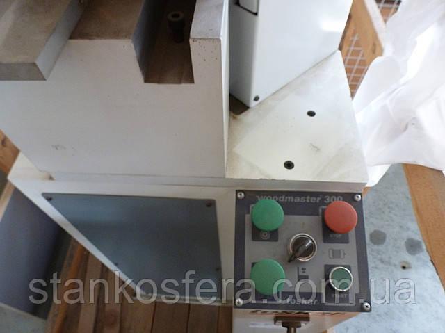 Односторонний станок для резки профилей и сверления под шканты Toskar Woodmaster 300