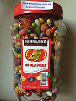 Конфеты Jelly Belly 49 вкусов Kirkland большущая банка