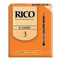 Трости для духовых RICO Rico - RCA1230 - Bb Clarinet #3.0 - 12 Box (32064)