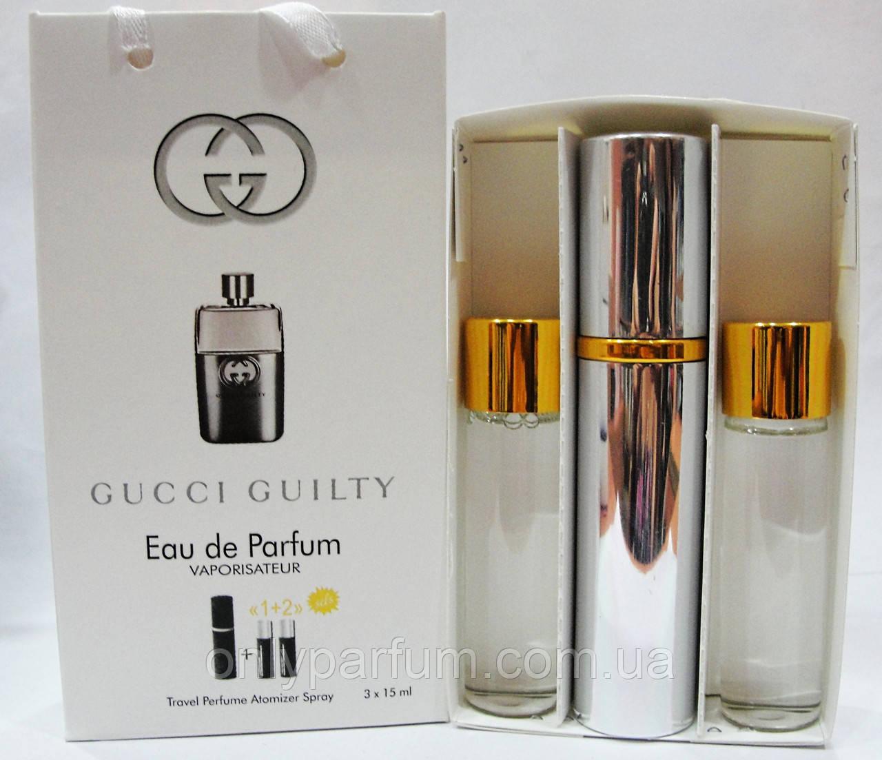 духи набор Gucci Guilty Eau Pour Homme гуччи продажа цена в
