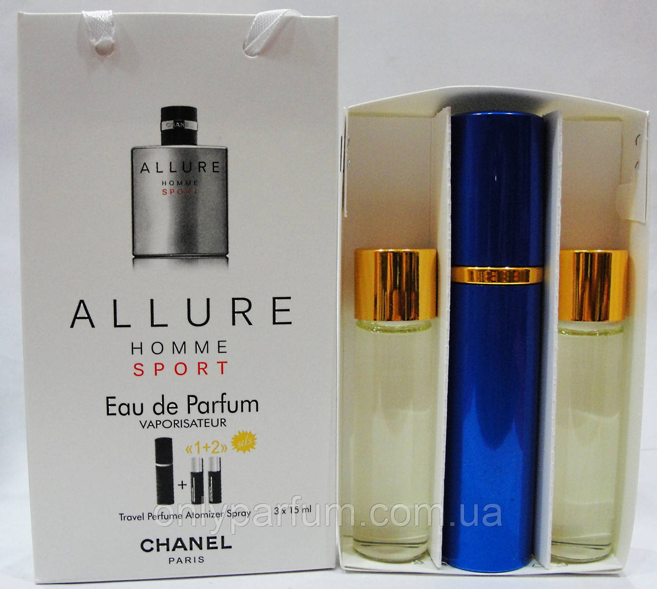 духи набор Chanel Allure Homme Sport шанель продажа цена в