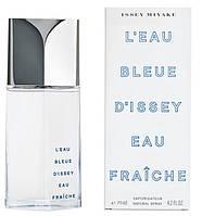 Мужская оригинальная туалетная вода Issey Miyake LEAU BLEUE DISSEY EAU FRAICHE, 75ml  NNR ORGAP /9-82