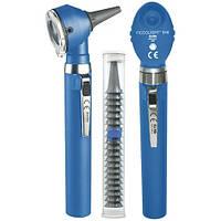 Диагностический набор KaWe Piccolight® F.O. E56 SET, две рукоятки  Синий