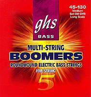 Струны для 5-стр. басгитары GHS 5MDYB (GH-0074)