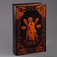 Книга-сейф с ключом Апостол Андрей Первозванный 27 см,подарок коллеги