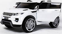 Детский электромобиль Land Rover (белый)