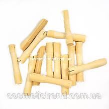Бігуді-дерев'яні коклюшки для хімічної завивки (набір 13 штук), діаметр 8-10 мм