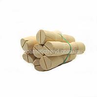 Бигуди-коклюшки деревянные для химической завивки (набор 6 штук, диаметр 19 мм))