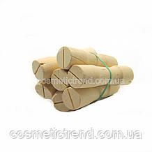 Бігуді-дерев'яні коклюшки для хімічної завивки (набір 6 шт, діаметр 19 мм))