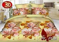 Комплект постельного белья двуспальный 3D PS-HL216
