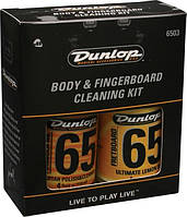 Средство по уходу за гитарой DUNLOP 6503 BODY AND FINGERBOARD CLEANING KIT (20387)