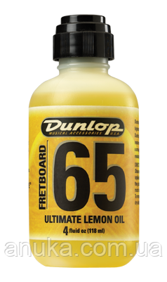 Средство по уходу за гитарой DUNLOP 6554 FRETBOARD 65 ULTIMATE LEMON OIL (20393) - Экшен Стайл и Анука™ в Днепре