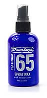 Средство по уходу за гитарой DUNLOP DUNLOP PLATINUM 65 SPRAY WAX (32861)