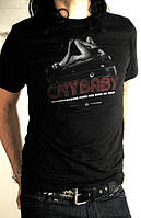 "Брендовая одежда DUNLOP DSD35-MTS-M MEN T-SHIRT ""CRYBABY PINUP"" MEDIUM (30186)"