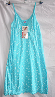 Женская ночнушка Турция Трикотаж много цветов ((разные цвета в упаковке)(разные рисунки в упаковке) , фото 1