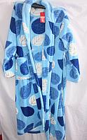 Халат Женский молодёжка Турция Микрофибра ((L-3XL)(Много цветов разные цвета в упаковке)) купить не