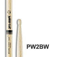 PRO-MARK PW2BW JAPANESE WHITE OAK 2B Барабанные палочки и щетки PROMARK PW2BW JAPANESE WHITE OAK 2B (27892)