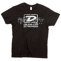"Брендовая одежда DUNLOP DSD28-MTS-M MEN T-SHIRT ""DUNLOP STRINGS"" MEDIUM (30192)"
