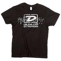 "Брендовая одежда DUNLOP DSD28-MTS-L MEN T-SHIRT ""DUNLOP STRINGS"" LARGE (30193)"