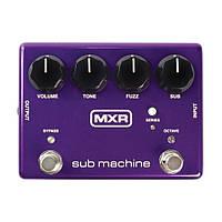 Гитарная педаль эффектов октавный фузз DUNLOP M225 MXR SUB MACHINE OCTAVE FUZZ (33277)