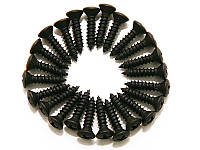 Гитарная механика саморезы для панели Strat DIMARZIO FH1000 (BK) (29623)