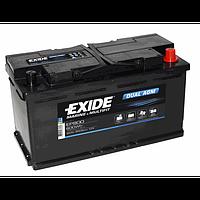 Dual AGM EP 800 92Ач аккумулятор Exide