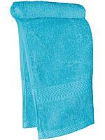 Кухонное махровое полотенце  (Ярко голубой)