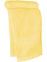Кухонное махровое полотенце  (Светло желтый)