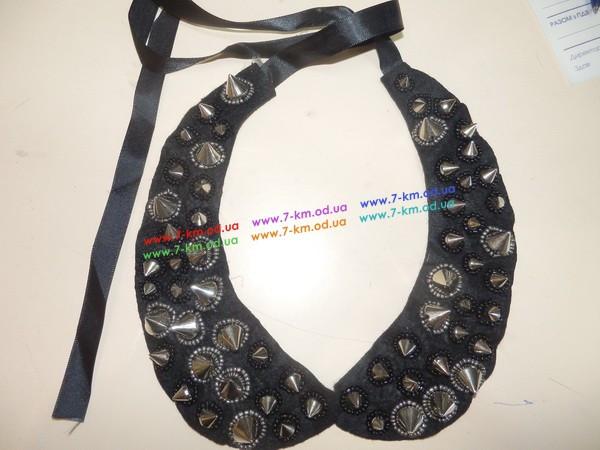 Воротник BIG4661 камни 1 шт - Детская одежда оптом от Shop-ua.net в Одессе