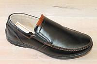 Кожаные школьные туфли для мальчиков бренда -Kangfu (разм. 31-36)