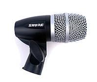 Динамический микрофон SHURE PG56-XLR для озвучивания ударных инструментов и перкусии (SH-1169)