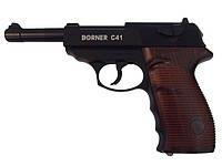 Видео обзор пневматического пистолета Borner С 41