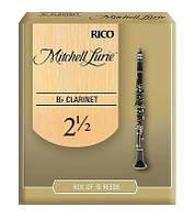 Трости для духовых RICO Mitchell Lurie - Bb Clarinet #2.5