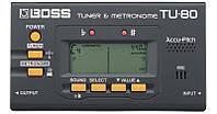 BOSS TU-80 Тюнер и метроном (BO-0156)