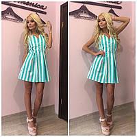"""Модное запоминающееся женское платье-сарафан """"Мятный вечер"""" 42-60р"""