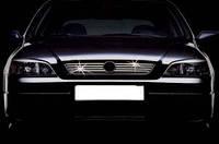 Opel Astra G передняя решетка нерж