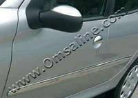 Peugeot 206 накладки на зеркала нерж