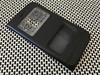 Кожаный чехол книжка Momax для LG K10 K410 чёрный