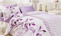 Комплект постельного белья полуторного размера натуральная ткань