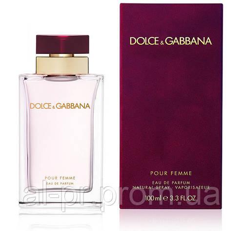 Парфюмированная вода Dolce&Gabbana Pour Femme