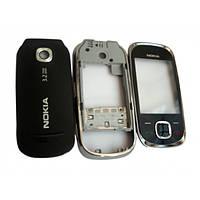 Корпус для Nokia 7230, High Copy, Графитовый /панель/крышка/накладка /нокиа