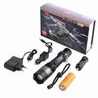 Мощниый фонарик Police BL-1828-T6 158000W, фото 1