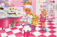 Вафельные картинки Modeсor — Барби 20х30 см