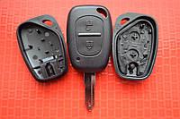 Ключ Nissan kubistar primastar interstar корпус кнопок без лезвия