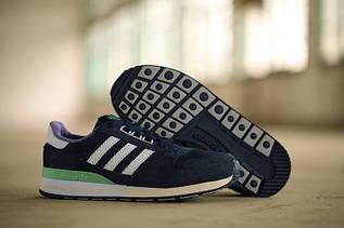 Кроссовки женские Adidas ZX500 / ADW-1021 (Реплика)