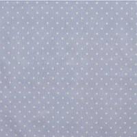 Портьерно-декоративная ткань горох белый, фон лаванда