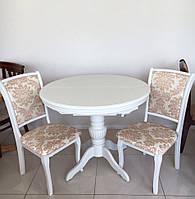 Стол круглый wt 48 со стульями NC 04, Китай