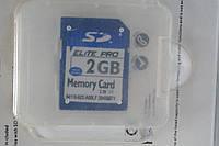 Карта памяти 2GB 4KL micro SD, аксессуары , гаджеты для компьютера