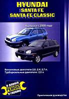 Hyundai Santa Fe с 2000 Инструкция по ремонту, руководство по обслуживанию автомобиля