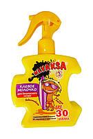Клевое молочко для загара Klyaksa SPF 30 для детей от 3-х лет - 200 мл.